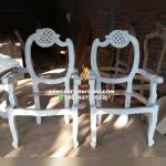 Kursi sofa pelaminan pengantin bulan sabit jati murah model terbaru