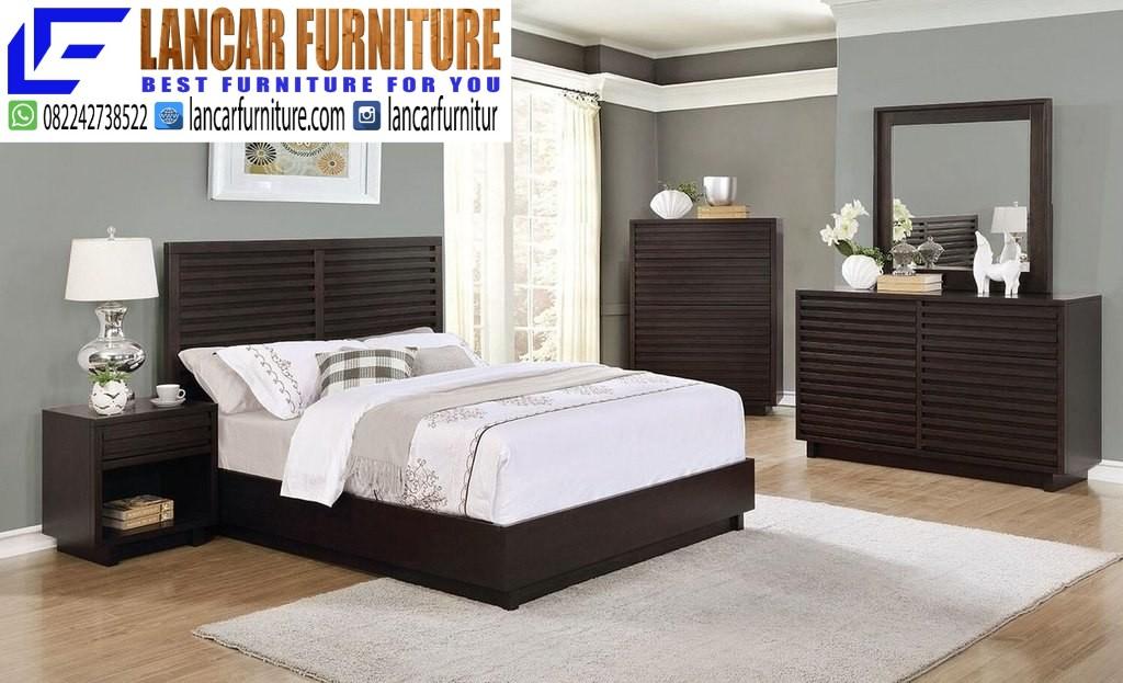 Set Kamar Tempat Tidur Minimalis Bandung Lancar Furniture Lancar Furniture