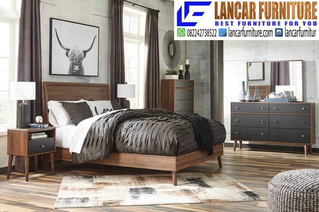 Set Kamar Tempat Tidur Retro - LANCAR FURNITURE - LANCAR ...