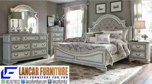 Set Tempat Tidur Klasik Antik